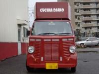 東京イタリアンレストランの移動販売車を製作