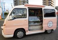 埼玉県のマカロン販売の移動販売車を製作
